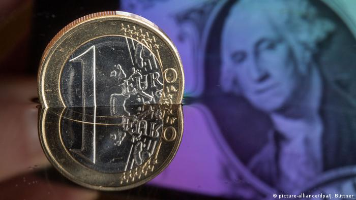 Symbolbild niedrige Inflation in der Eurozone (picture-alliance/dpa/J. Büttner)
