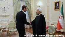 Iran Dänemark Jensen bei Ruhani