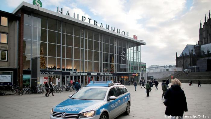 Центральный вокзал Кельна