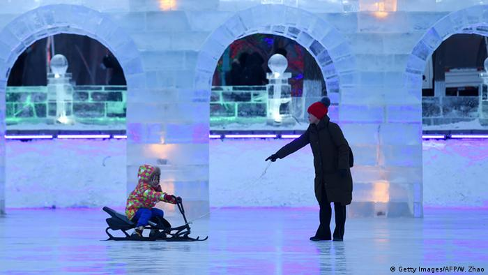 China Eisfestival 2016 Harbin (Getty Images/AFP/W. Zhao)