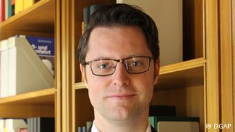 Deutschland Sebastian Sons Experte der DGAP (DGAP)