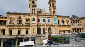 San Sebastián, Rathaus, Totale