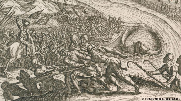 Битва римлян и германцев под Нойсом
