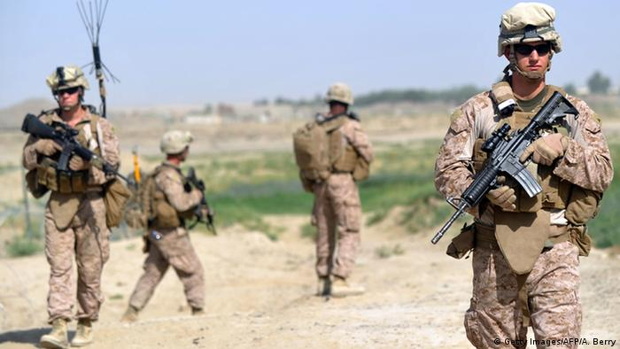 Afghanistan Helmand 2012 - US Marines (Getty Images/AFP/A. Berry)