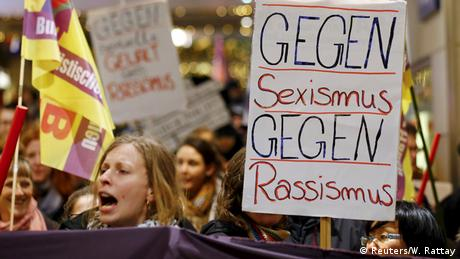 Deutschland Köln Proteste nach sexuellen Übergriffen