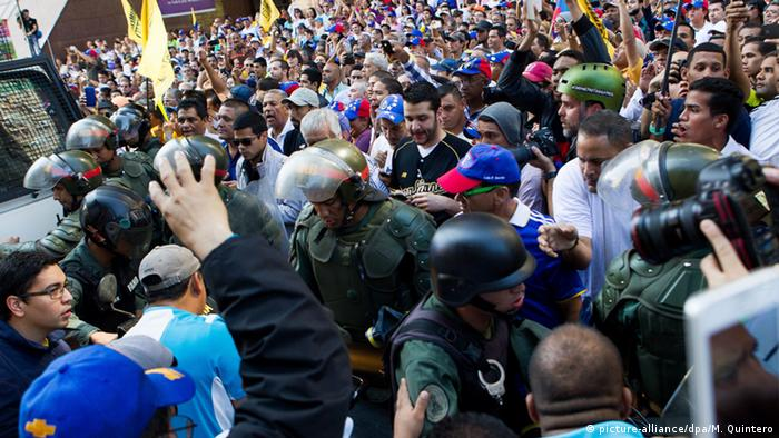 Venezuela Unruhen Parlamentsbildung