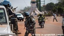 Zentralafrikanische Republik UN Soldaten