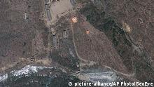 Nordkorea Atomtestgelände Punggye-ri (picture-alliance/AP Photo/GeoEye)