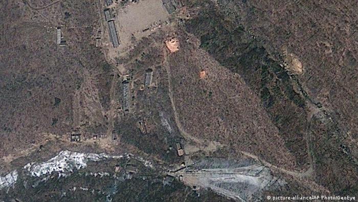 Северокорейский ядерный полигон Пунгери