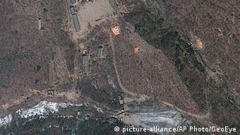 Δορυφορικη φωτογραφία της περιοχής πυρηνικών δοκιμών Πουγκίε Ρι