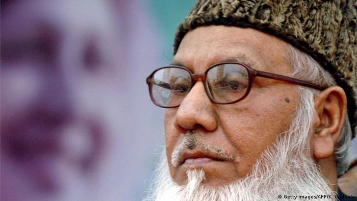 Khaleda's BNP has been accused of nurturing close ties with the Islamist Jamaat-e-Islami. Many of the party's members, like Matiur Rahman Nizami (pictured above) have been linked with ordering the killings of freedom fighters during Bangladesh's war of independence in 1971.