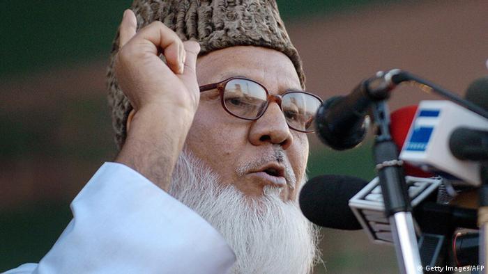 Bangladesch Matiur Rahman Nizami Parteichef von Jamaat-e-Islami