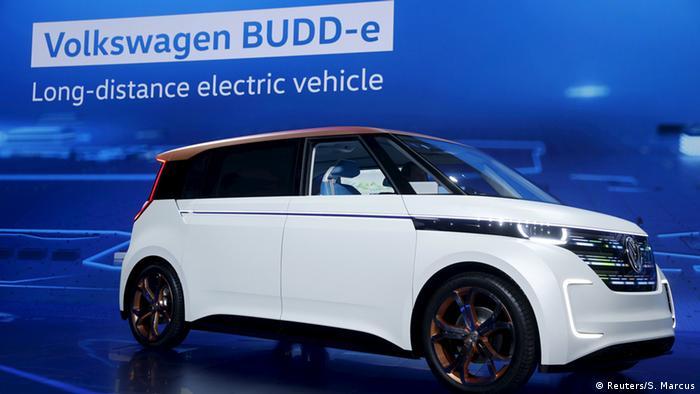 USA CES 2016 VW BUDD-e