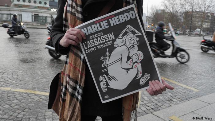 Frankreich erster Jahrestag nach dem Anschlag auf Charlie Hebdo