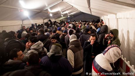 Deutschland Flüchtlinge in Berlin LaGeSo