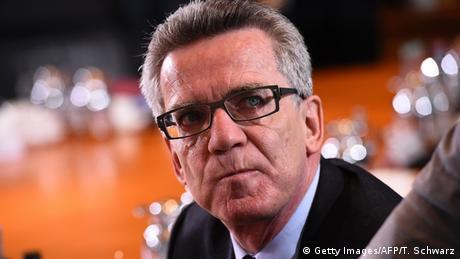 Deutschland Thomas de Maiziere Kabinettssitzung