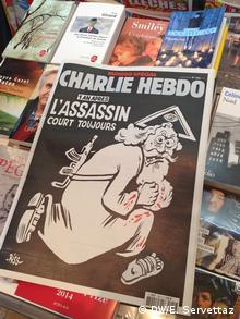 Frankreich Charlie Hebdo 1 Jahr nach dem Anschlag