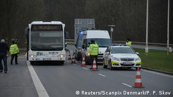 Έλεγχος στα σύνορα Δανίας-Γερμανίας