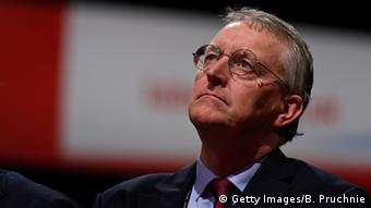 Shadow foreign minister Hilary Benn