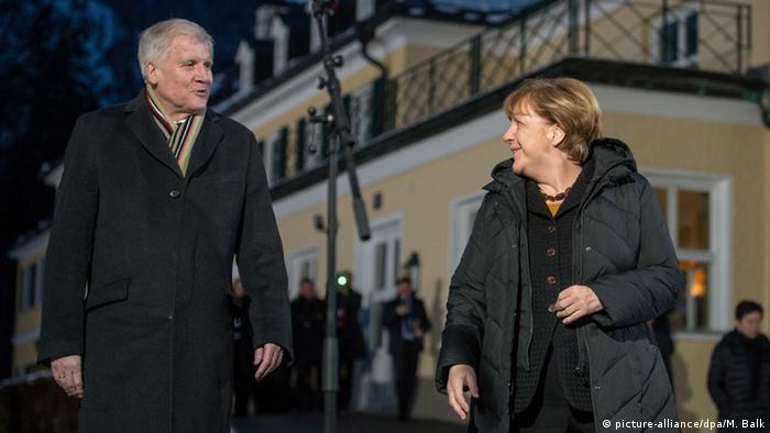 Wildbad Kreuth CSU Klausur Seehofer Merkel