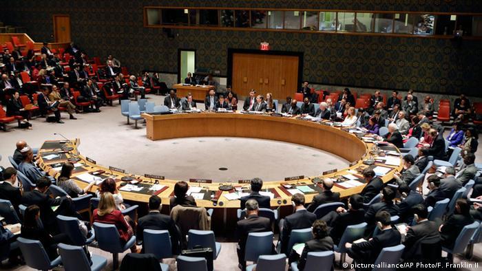 New York UN-Sicherheitsrat Sitzung