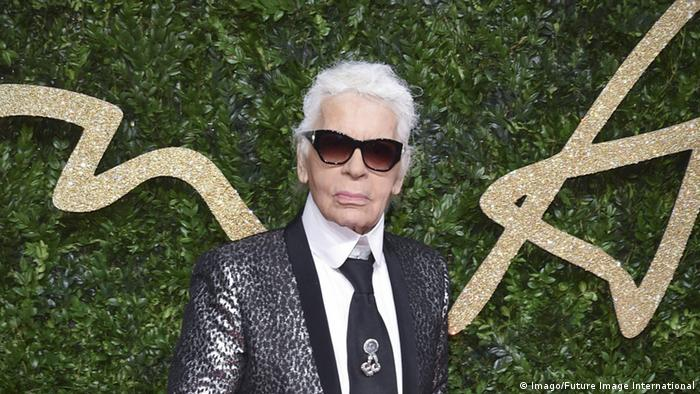 Karl Lagerfeld British Fashion Awards 2015