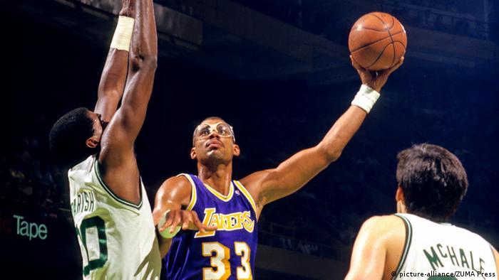 Beste Korbjäger der NBA Kareem Abdul Jabbar