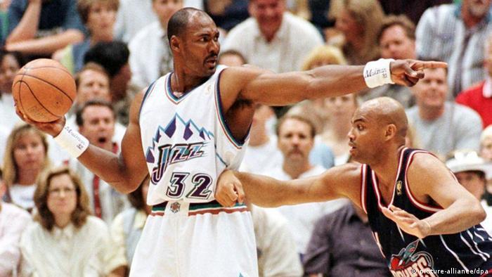 Beste Korbjäger der NBA Karl Malone
