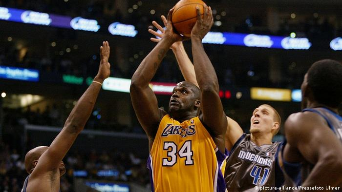 Beste Korbjäger der NBA Shaquille O'Neal