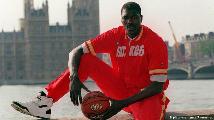 Beste Korbjäger der NBA Hakeem Olajuwon
