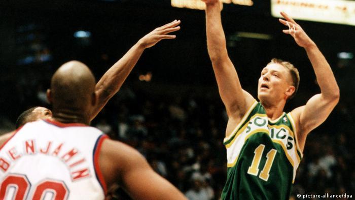 Beste Korbjäger der NBA Detlef Schrempf