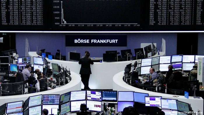 Zamachy w Brukseli spowodowały spadki na giełdach, także na niemieckim DAX