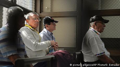 Guatemala Festnahme wegen Menschenrechtsverbrechen