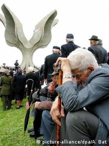 Kroatien Denkmal für die Opfer des Konzentrationslagers Jasenovac