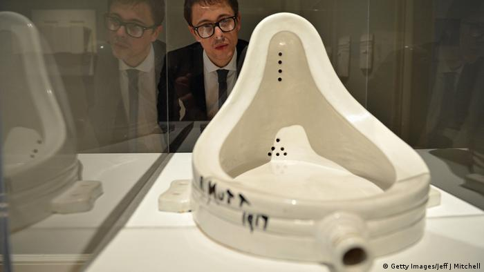 Marcel Duchamp Readymade - Copyright: Getty Images/Jeff J Mitchell