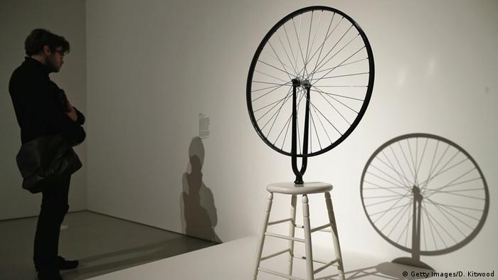 marcek duchamp readymades the bicycle wheel essay