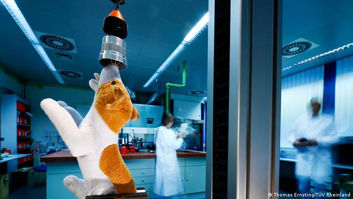 Nürnberg TÜV Rheinland weltweit Spielzeugprüflabor