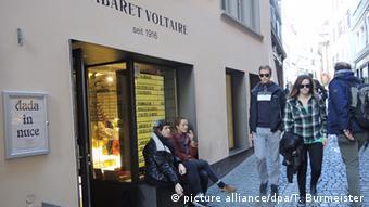 Außenansicht des Cabaret Voltaire, Foto: Getty Images