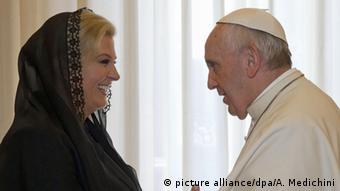 Kolinda Grabar-Kitarović i papa Franjo