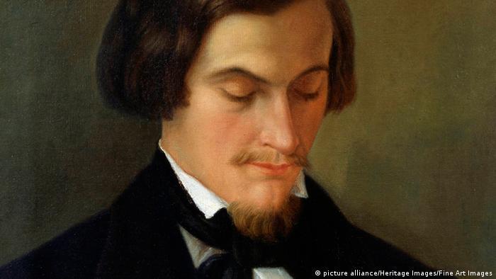 Gemälde Heinrich Heine Ausschnitt
