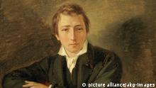 Gemälde Heinrich Heine von Oppenheim Ausschnitt