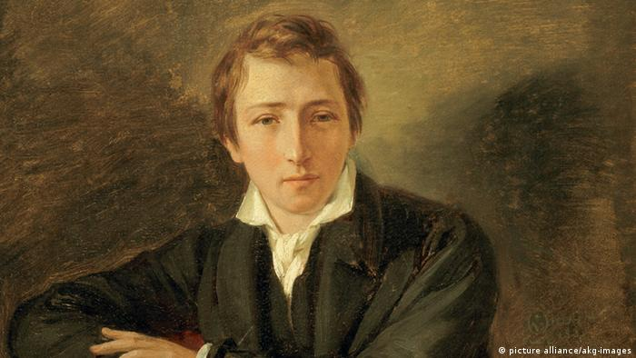 Part of a portrait of Heinrich Heine by Oppenheim (picture alliance/akg-images)