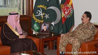 Pakistan Rawalpindi Adel al-Dschubeir bei Raheel Sharif