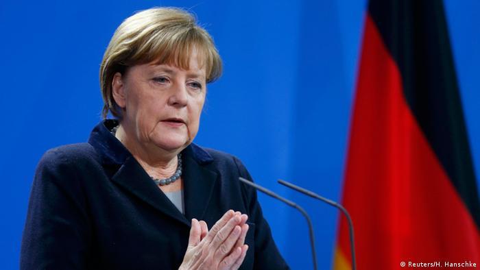 Deutschland Rumänien Merkel bei der PK mit Dacian Ciolos