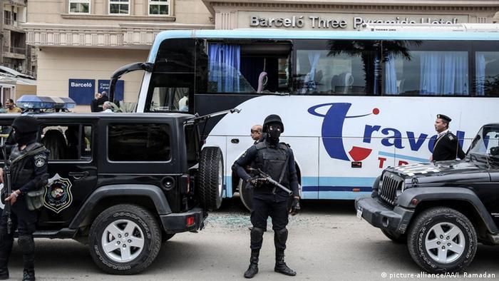 Ägypten Kairo Anschlag auf Israelische Touristen