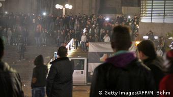 Во время беспорядков в Кельне в новогоднюю ночь
