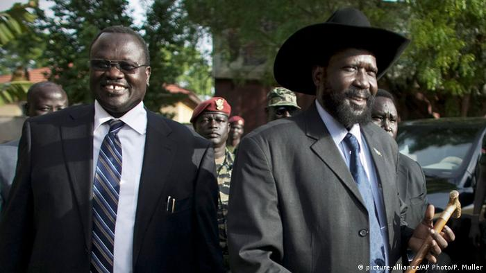 Riek Machar and President Salva Kiir
