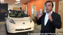 Renault Selbstfahrendes Auto Carlos Ghosn