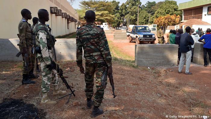 Zentralafrikanische Republik Wahl - Sicherheit in Bangui