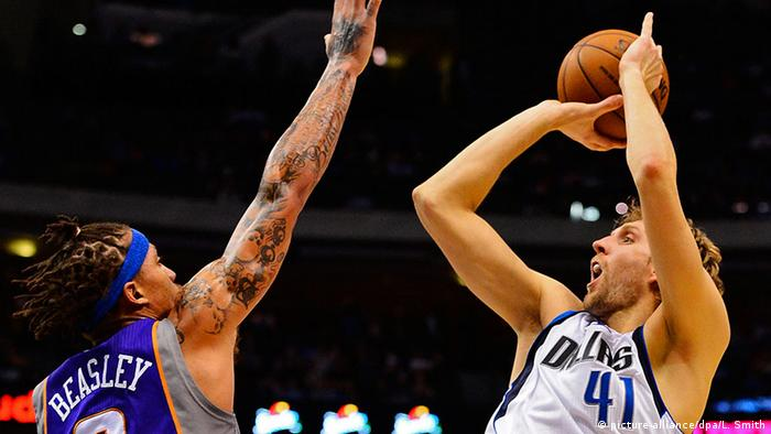 Phoenix Suns - Dallas Mavericks, NBA Dirk Nowitzki